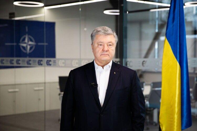 Заява Порошенка: «Відмовою від НАТО мир у Москви не випросиш!»