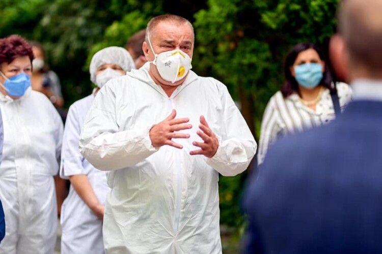 У Львові від коронавірусу помер завідувач відділення інфекційної лікарні