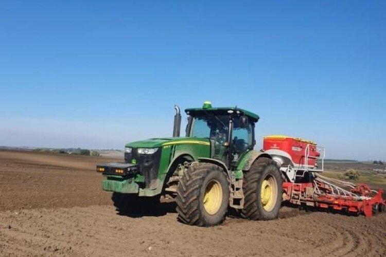Чому під Луцьком австрійці засівають пшеницю