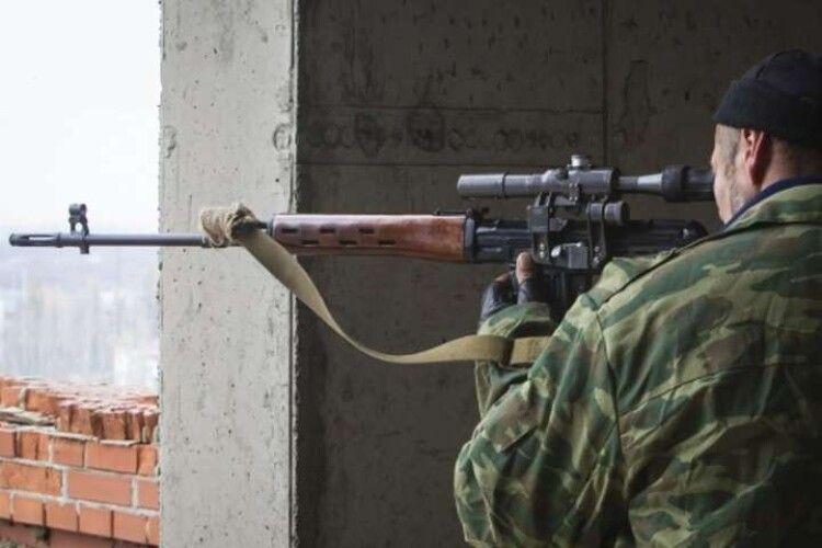 Снайпер вбив українського бійця