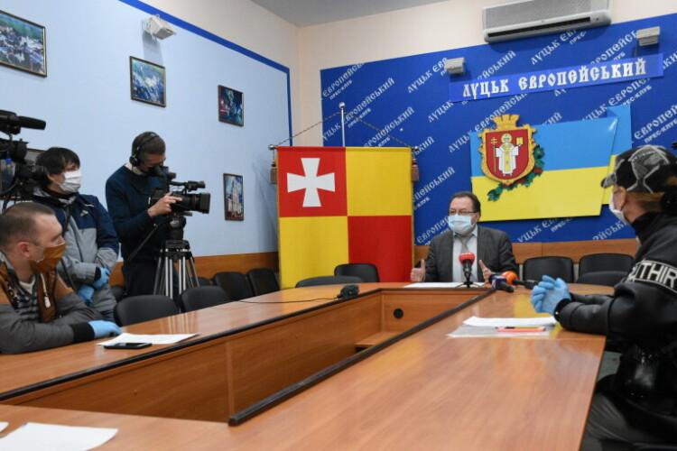 Секретар міської ради Григорій Пустовіт зустрівся із підприємцями міста Луцька