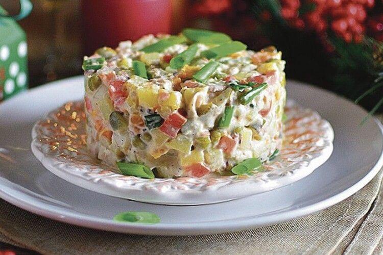 Рецепти найкращих новорічних салатів від «Волині»