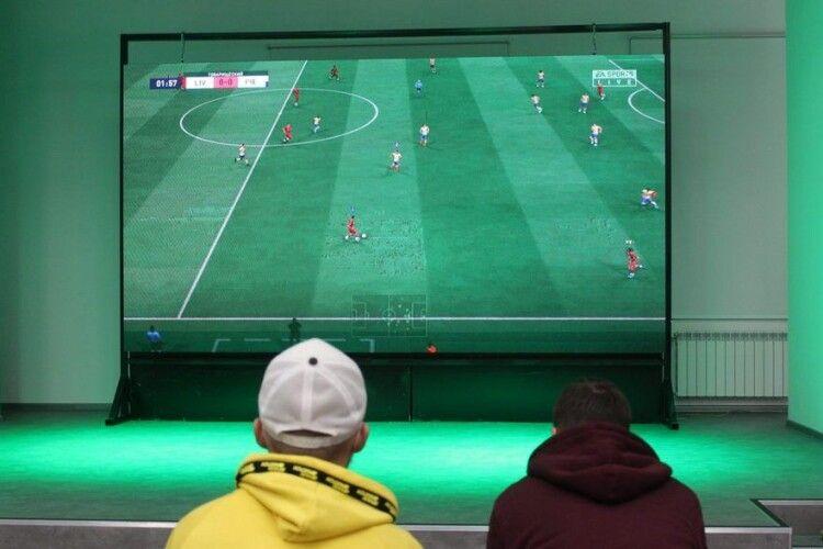 У Нововолинську вперше відбудеться кібертурнір з футболу