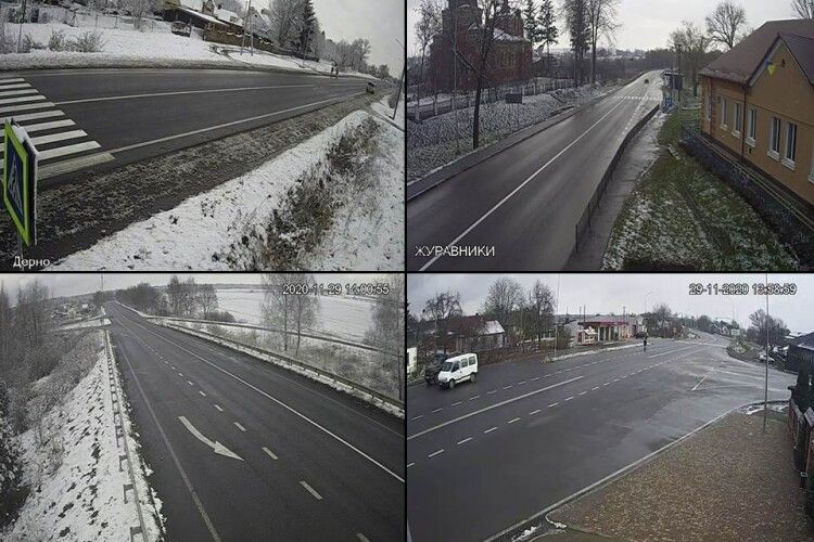 Волинські дорожники показали, як чистили перший сніг на дорогах області (Фото)