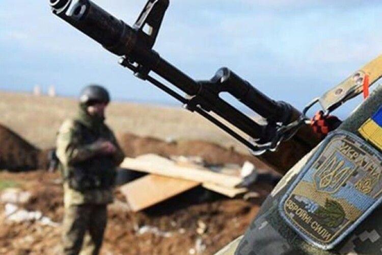 На Донбасі загинув боєць ООС