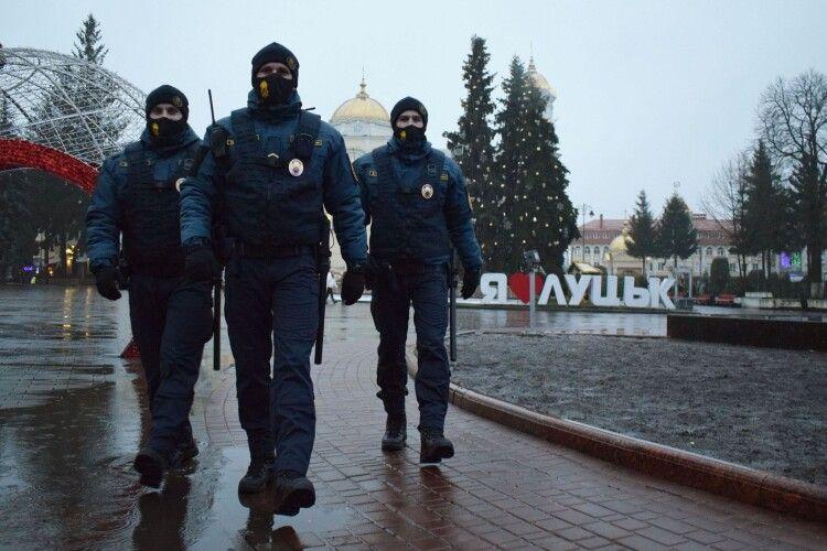 Упізнати військових Нацгвардії в Луцьку можна буде здалеку