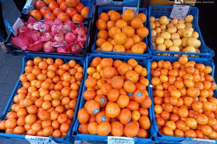 Де у Луцьку найдешевші мандарини (Фото)