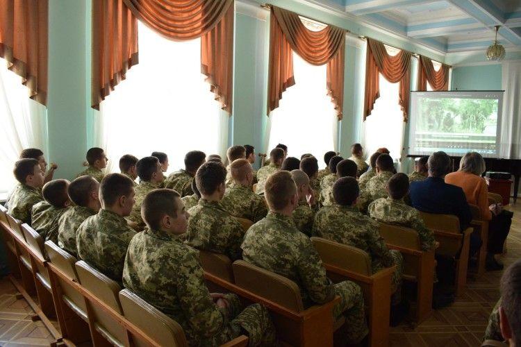У Луцьку відбулася зустріч з ветеранами Азову