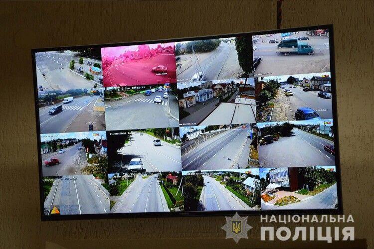 У Горохівському районі встановлено 18 камер відеоспостереження: як вони працюють
