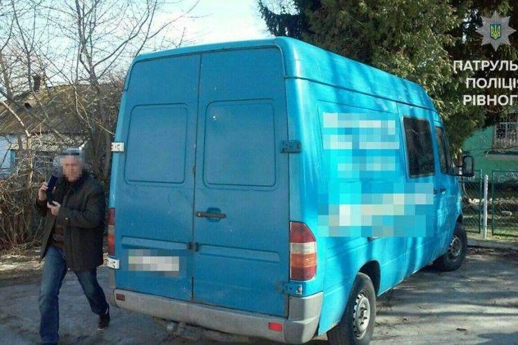 На Рівненщині виявили автівку з підробленими номерами агрегатів (фото)