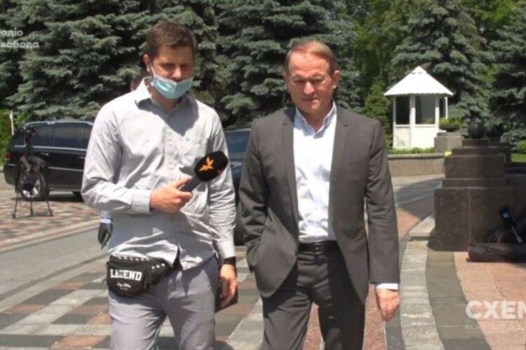 Медведчук прокоментував спільний бізнес з Коломойським