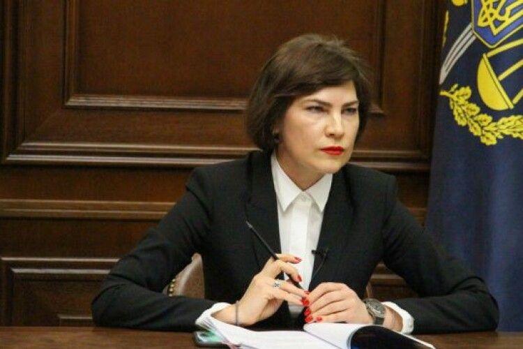 Венедіктова стверджує, що їй не надавали матеріалів для підписання підозри Медведчуку