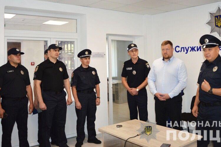 Як нова копійка: у Нововолинську відремонтували відділення поліції