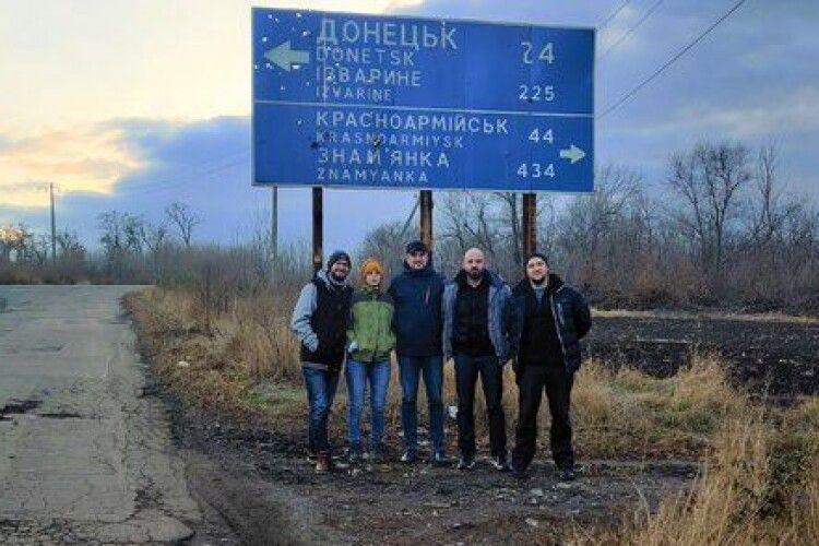 Лідер гурту «Тимчасова Назва» з Донецька пише пісні на вірші Сергія Жадана
