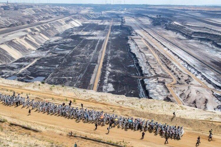 Протестувальники взяли штурмом вугільну шахту в Німеччині