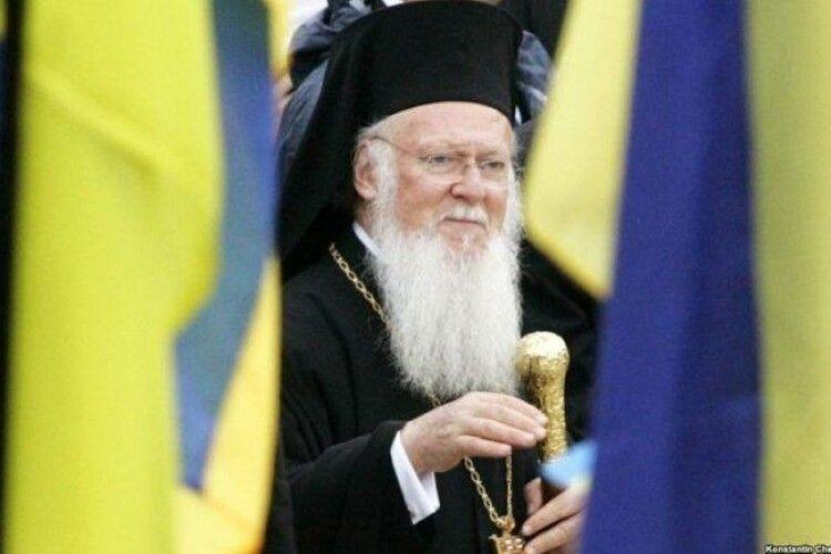 Вселенський Патріарх відвідає Україну 24 серпня на День Незалежності