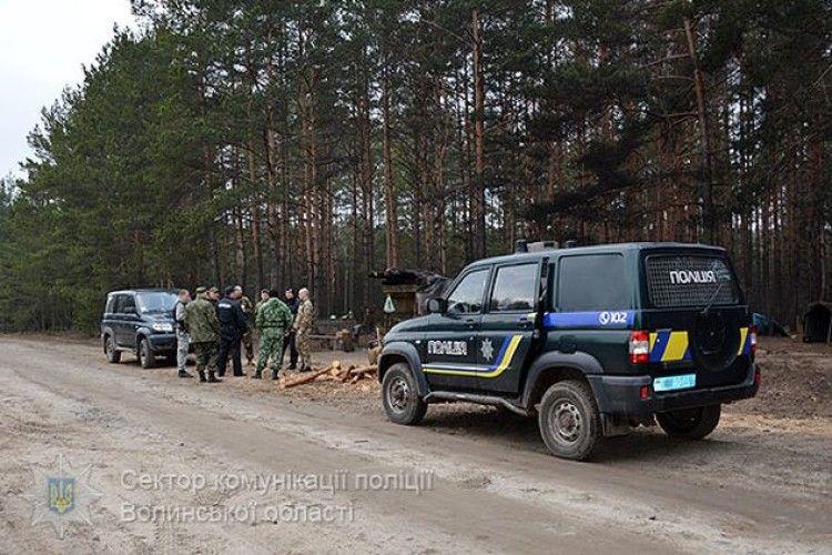 На Волині правоохоронці посилили охорону бурштину (ФОТО)