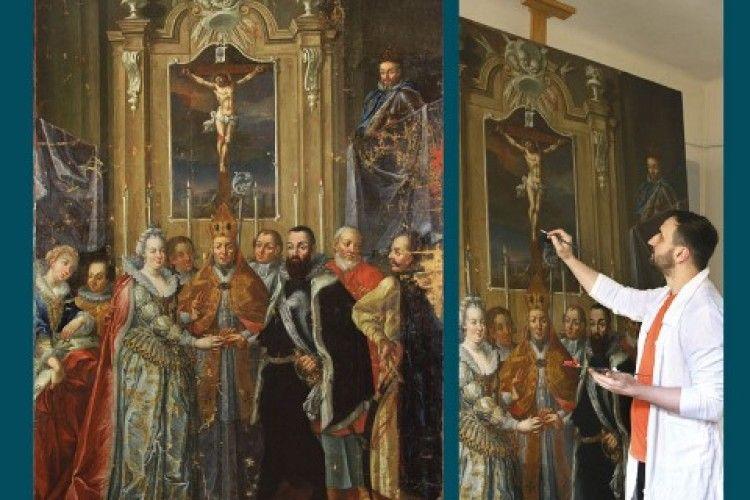 Картину з Волинського краєзнавчого музею відреставрували у Львові