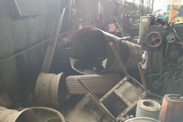 У Рівненській області в гаражі стався вибух, є загиблий