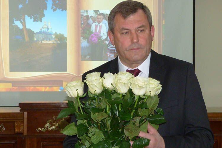 Петро Філюк попрощався з колективом Волинського апеляційного суду, який очолював 15 років (відео)