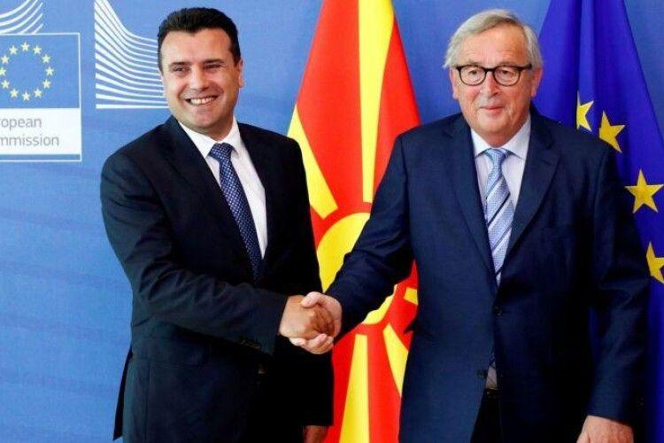 Країни-члени ЄС можуть відкласти рішення про відкриття переговорів про приєднання з Північною Македонією таАлбанією довересня