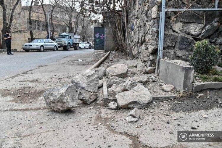 У Вірменії стався землетрус (Фото)