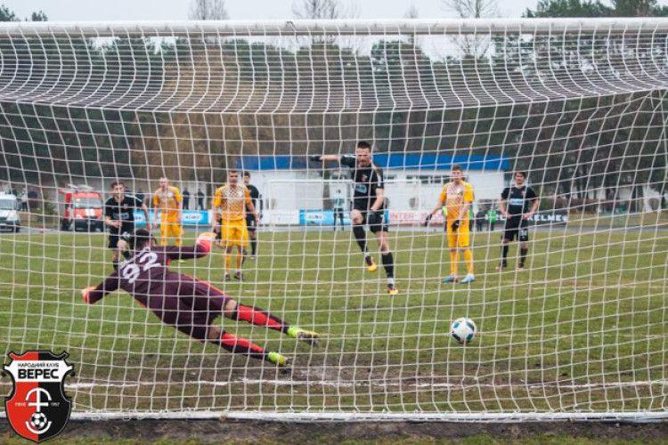 Рівненський «Верес» перемагає «Нафтовик-Укрнафту» з рахунком 2:0 (Відео)