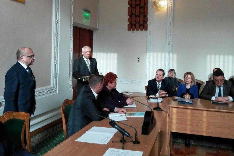Волинський журналіст одержав державну нагороду (фото)