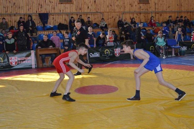 У Ковелі відбувся Всеукраїнський турнір з вільної боротьби
