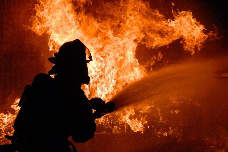 На Волині за добу – чотири пожежі