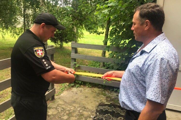 У волинському селі відкрили поліцейську станцію