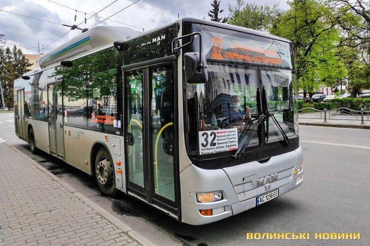 У Луцьку з маршрутів тимчасово знімуть нові екоавтобуси