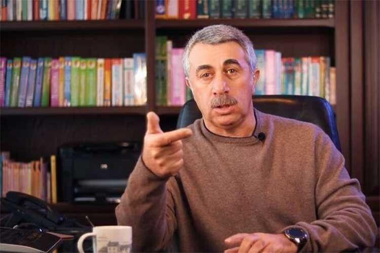 Євген Комаровський: «За процедуру парити ноги треба забирати дітей від батьків»
