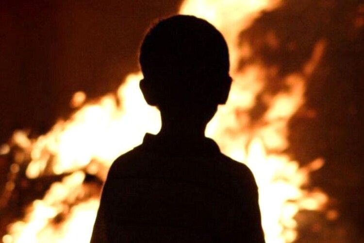 Жінка згоріла живцем на території дитсадка