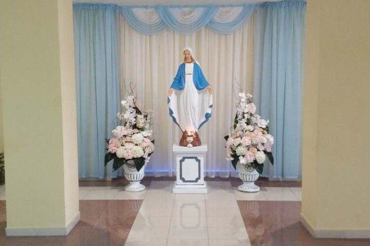 Тепер гірники шахти №10 «Нововолинська» молитимуться біля Божої Матері