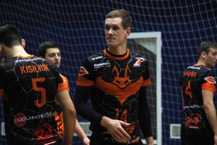 Волейбол: українець повернувся з Чехії в Дніпро