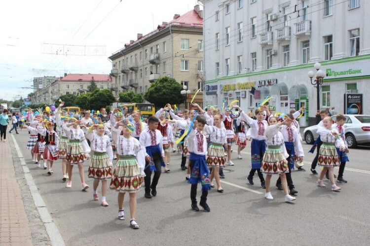 У Луцьку сьогодні буде учнівський фестиваль