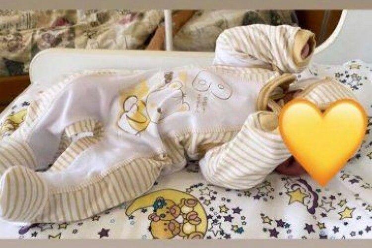 Ведуча з Луцька народила сина