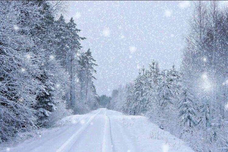 Погода на середу, 10 лютого: Волинь знову атакують білі мухи