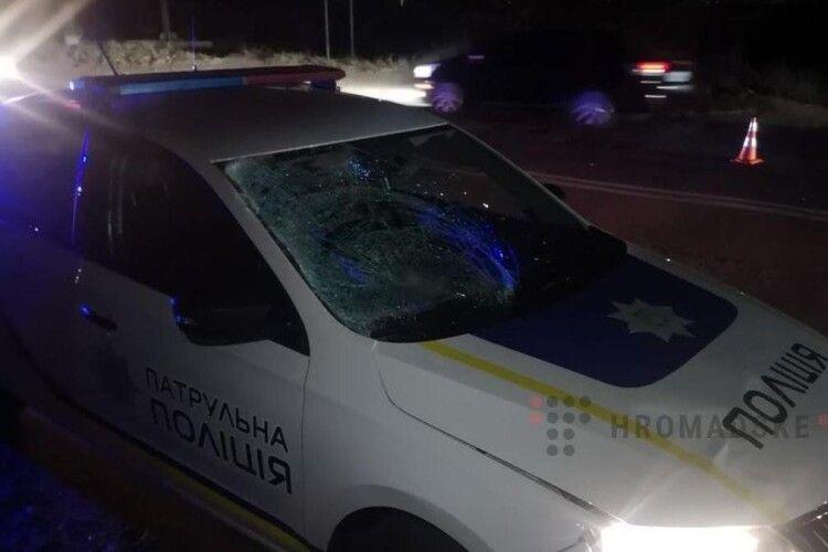 Сильний удар головою: патрульні на смерть збили пішохода (Фото)
