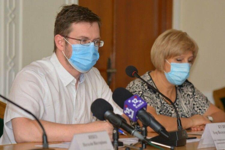Представник МОЗ закликав волинян більш відповідально ставитися до протиепідемічних вимог