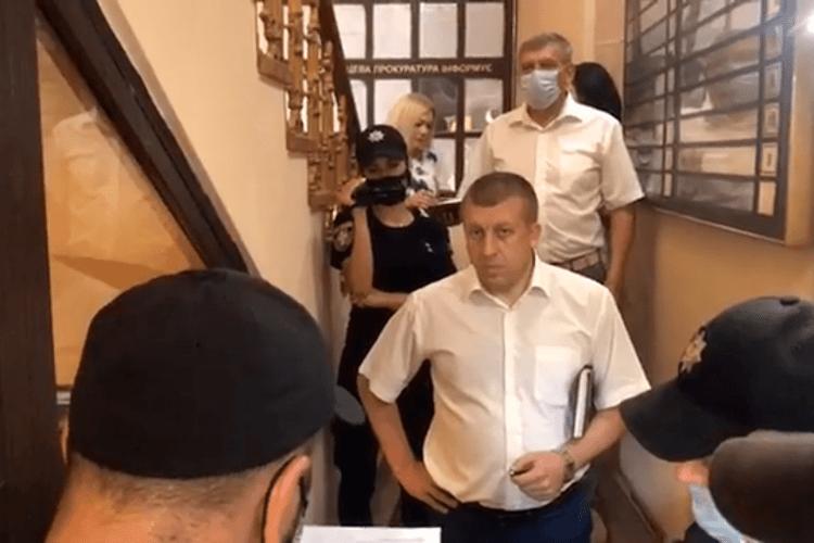 «Я вас почув», – луцький прокурор атовцям і підприємцям, які вимагають негайного розгляду справ щодо Сиротинської (Відео)