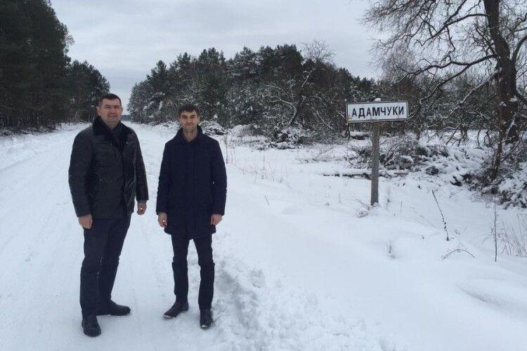 Голова Волинської обласної ради поїхав в Шацьку громаду