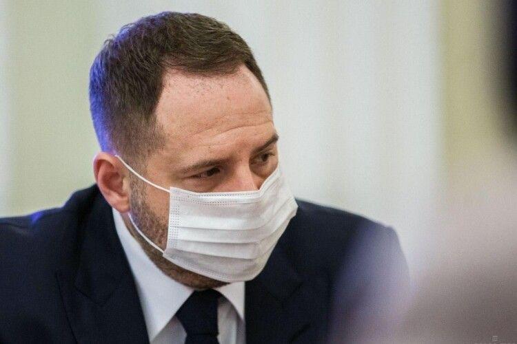 Услід за Зеленським коронавірус підчепив керівник Офісу Президента Єрмак