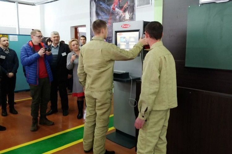 У Володимирі-Волинському встановили сучасне обладнання для навчання електрогазозварників
