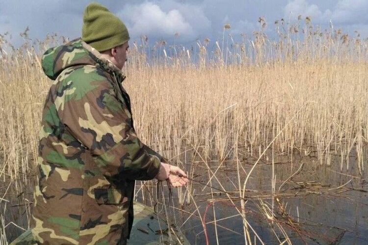 На Волині екоінспектори вилучили пів кілометра браконьєрських риболовних сіток