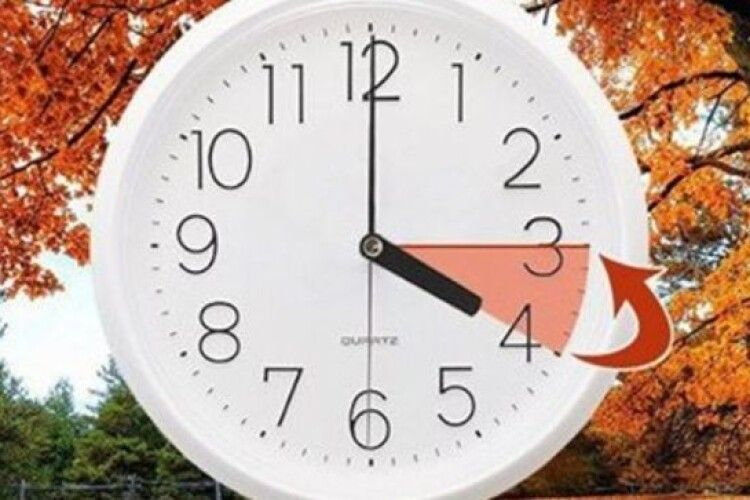 Не забудьте: 27 жовтня об 4:00 – переведення годинника на зимовий час!