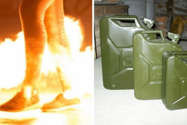 На Рівненщині невідомі облили бензином чоловіка й підпалили