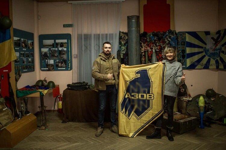 У Ковельському історичному музеї буде експозиція присвячена полку «А3OB»