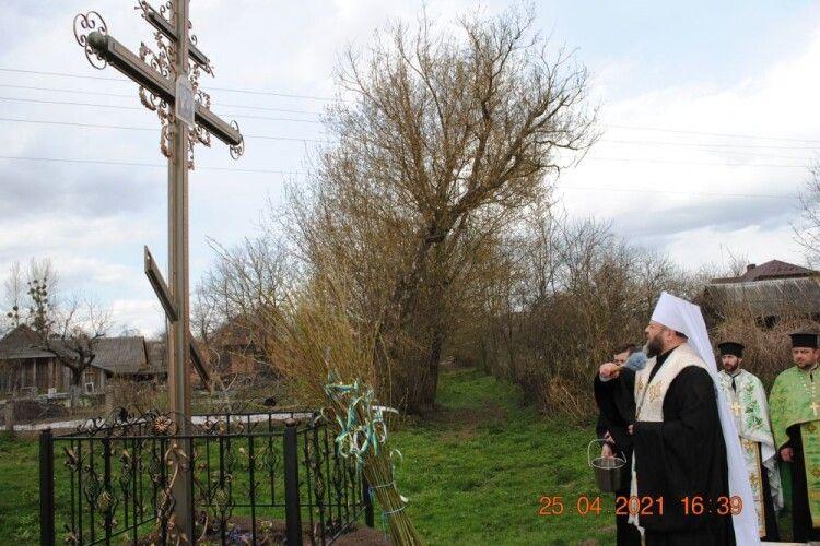 У волинському селі з'явилась перша святиня